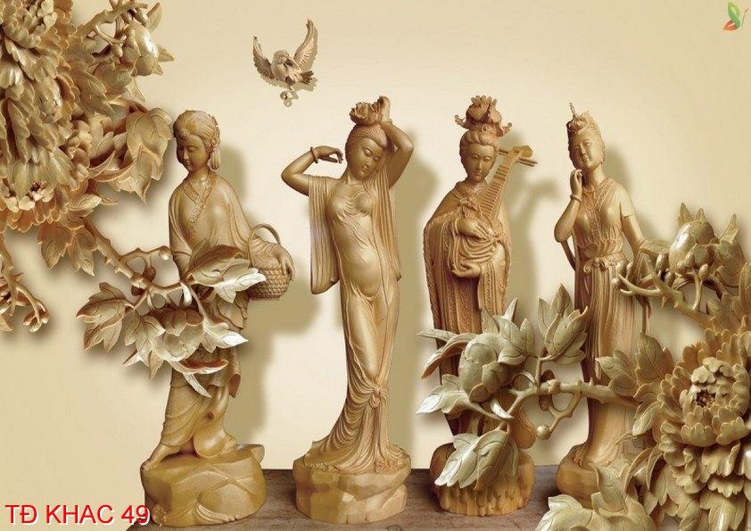 TÐ Khac 49 - Tranh điêu khắc TÐ Khac 49