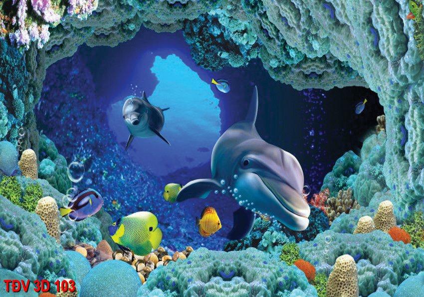 TÐV 3D 103 - Tranh động vật 3D TÐV 3D 103