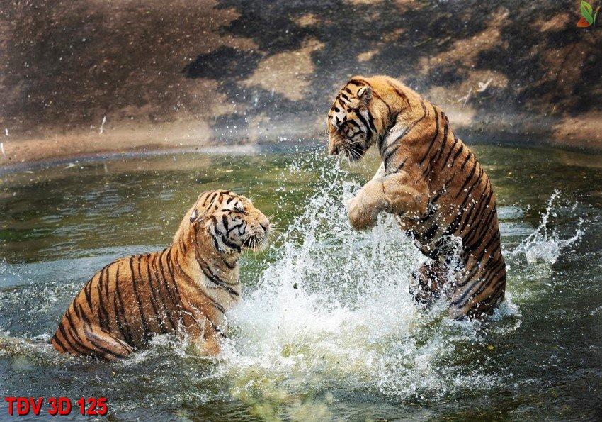 TÐV 3D 125 - Tranh động vật 3D TÐV 3D 125