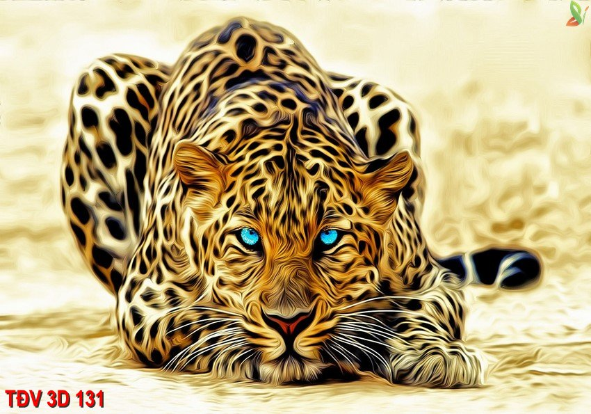 TÐV 3D 131 - Tranh động vật 3D TÐV 3D 131