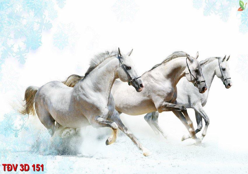 TÐV 3D 151 - Tranh động vật 3D TÐV 3D 151