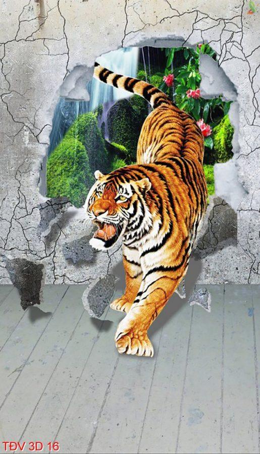 TÐV 3D 16 515x900 - Tranh động vật 3D TÐV 3D 16