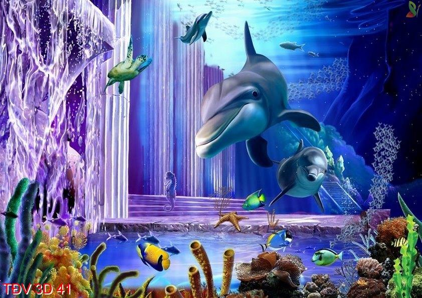 TÐV 3D 41 - Tranh động vật 3D TÐV 3D 41