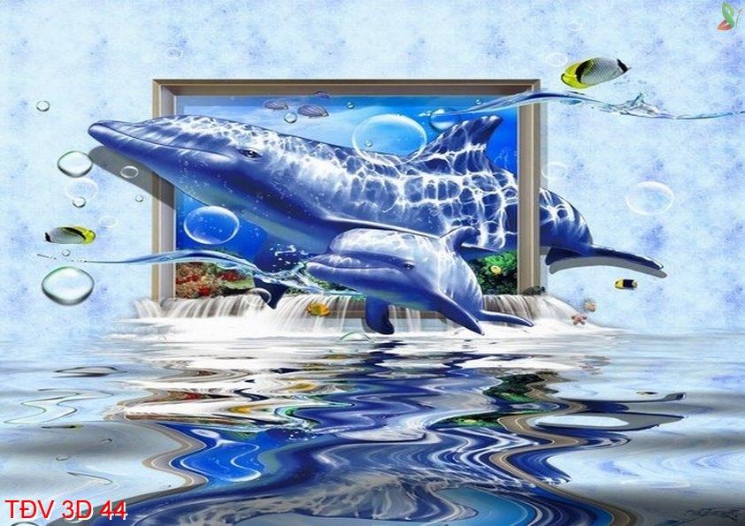 TÐV 3D 44 - Tranh động vật 3D TÐV 3D 44
