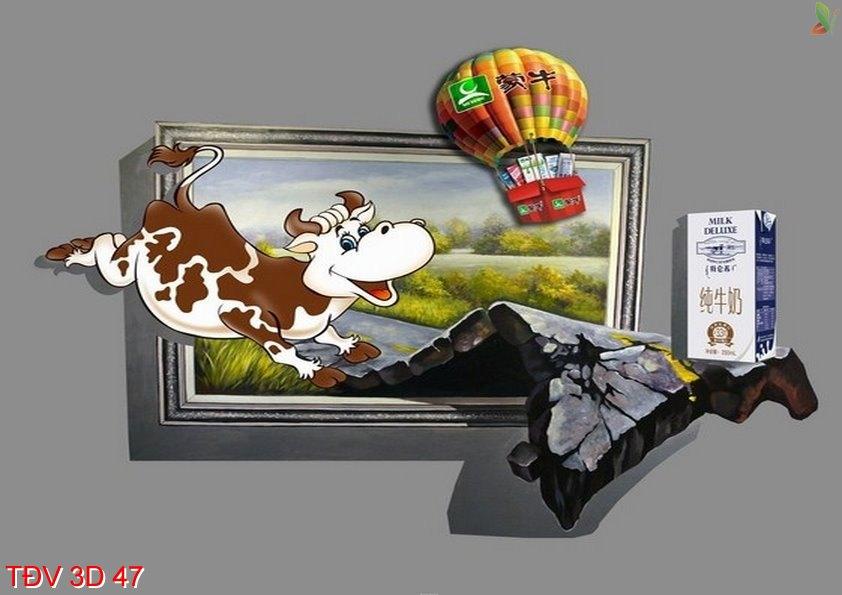 TÐV 3D 47 - Tranh động vật 3D TÐV 3D 47