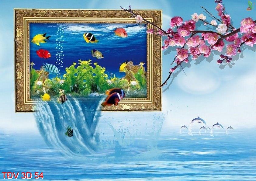 TÐV 3D 54 - Tranh động vật 3D TÐV 3D 54