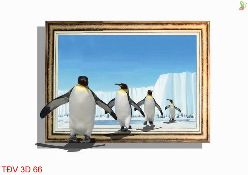 TÐV 3D 66 - Tranh động vật 3D TÐV 3D 66