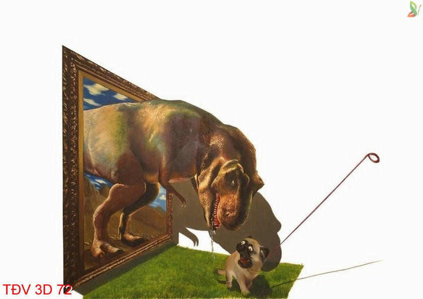TÐV 3D 72 - Tranh động vật 3D TÐV 3D 72