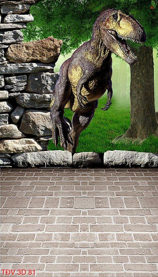 TÐV 3D 81 515x900 - Tranh động vật 3D TÐV 3D 81