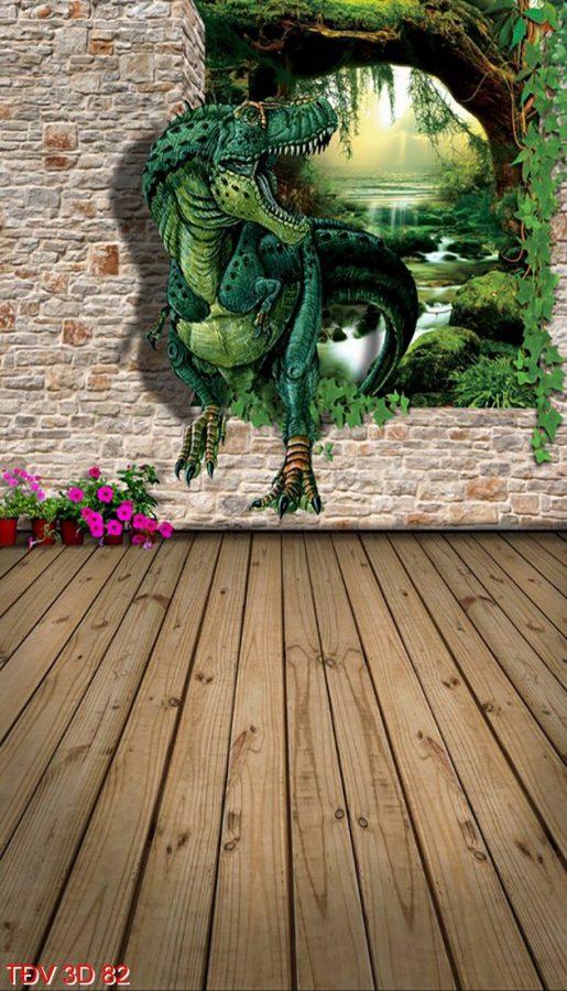TÐV 3D 82 515x900 - Tranh động vật 3D TÐV 3D 82