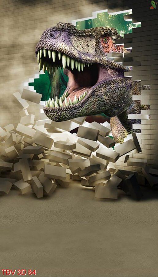 TÐV 3D 84 515x900 - Tranh động vật 3D TÐV 3D 84