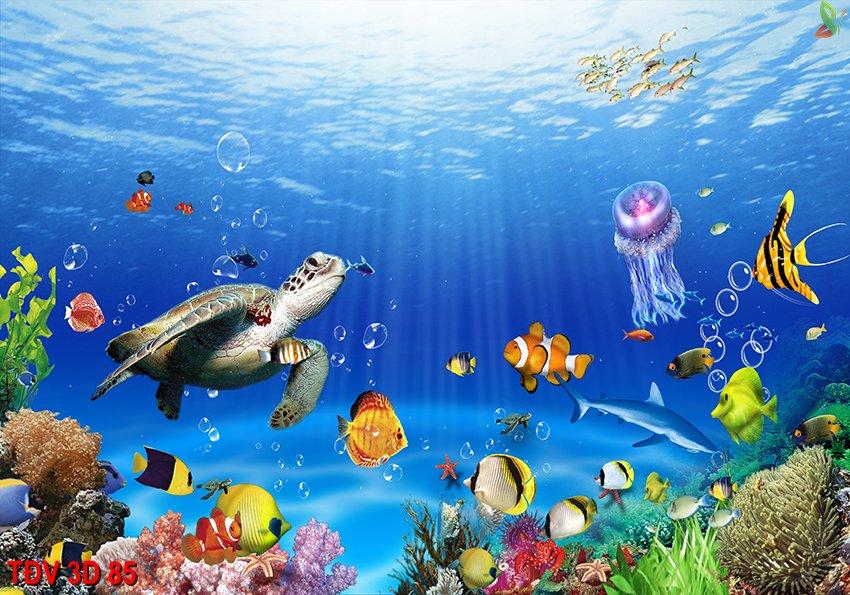 TÐV 3D 85 - Tranh động vật 3D TÐV 3D 85