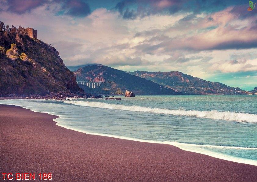 TC Bien 186 - Tranh cảnh biển TC Bien 186