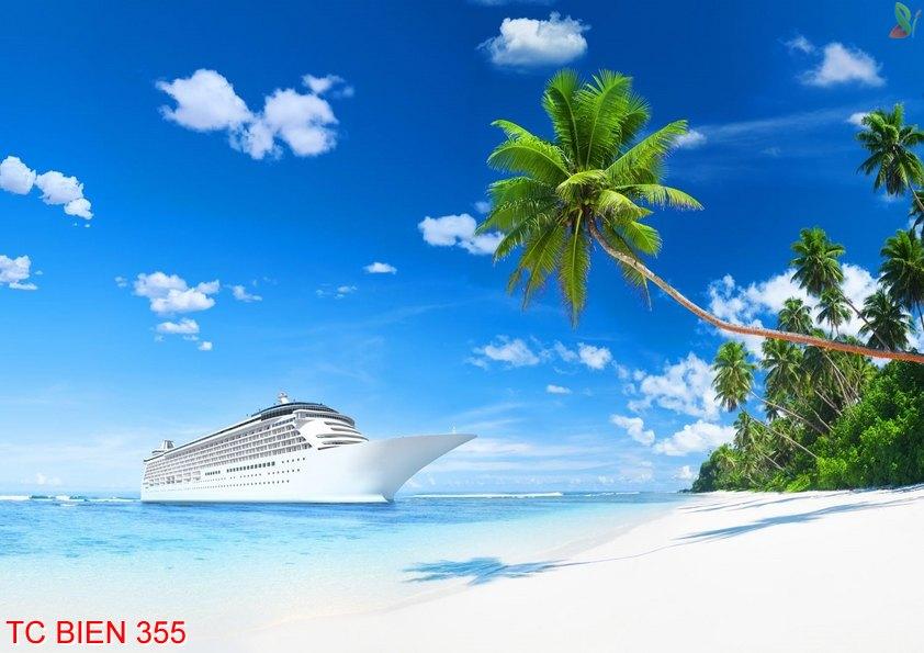 TC Bien 355 - Tranh cảnh biển TC Bien 355