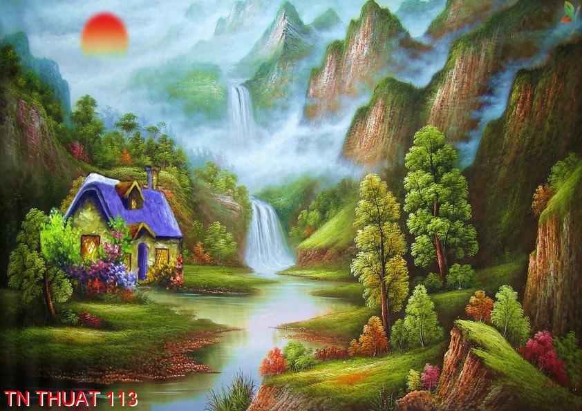 TN Thuat 113 - Tranh nghệ thuật TN Thuat 113