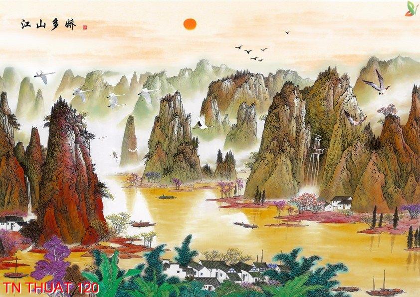 TN Thuat 120 - Tranh nghệ thuật TN Thuat 120