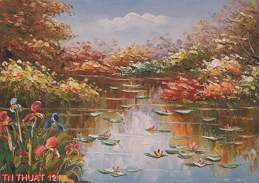 TN Thuat 121 - Tranh nghệ thuật TN Thuat 121