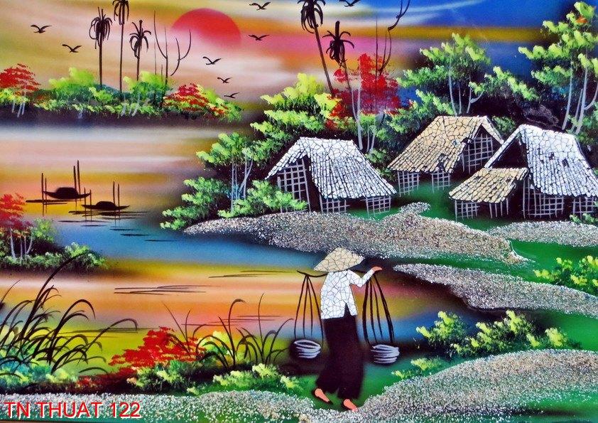 TN Thuat 122 - Tranh nghệ thuật TN Thuat 122