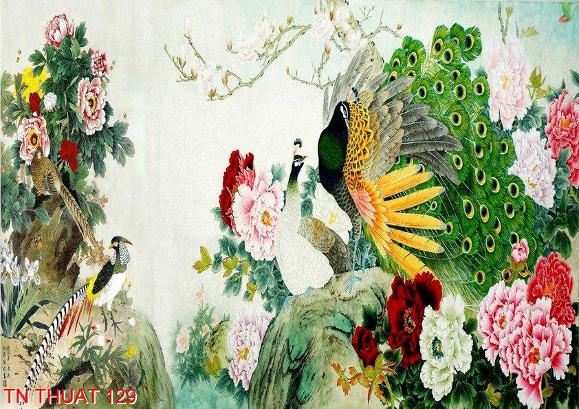 TN Thuat 129 - Tranh nghệ thuật TN Thuat 129