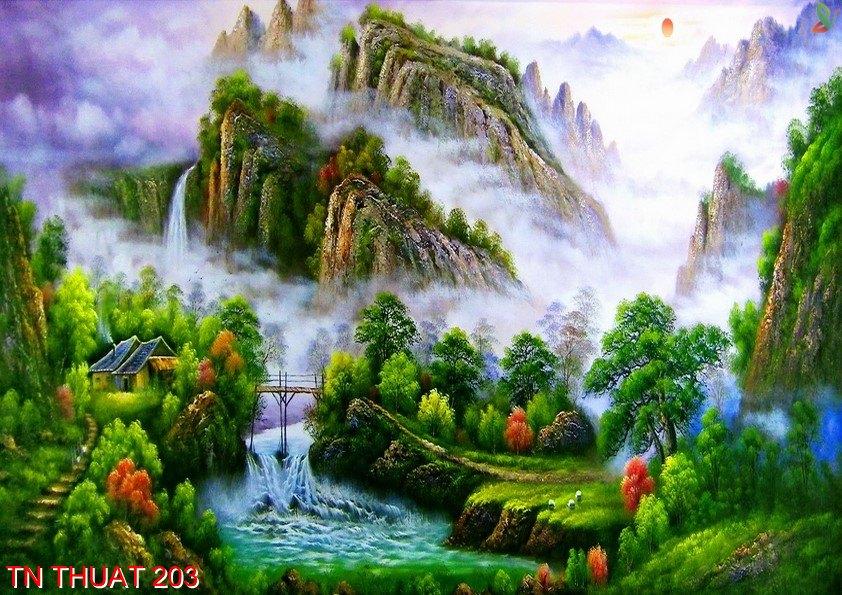 TN Thuat 203 - Tranh nghệ thuật TN Thuat 203