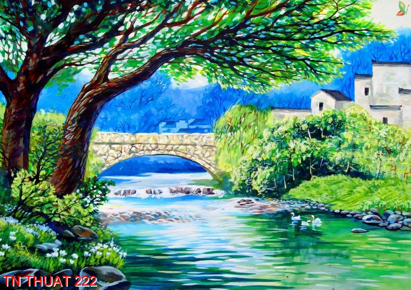 TN Thuat 222 - Tranh nghệ thuật TN Thuat 222