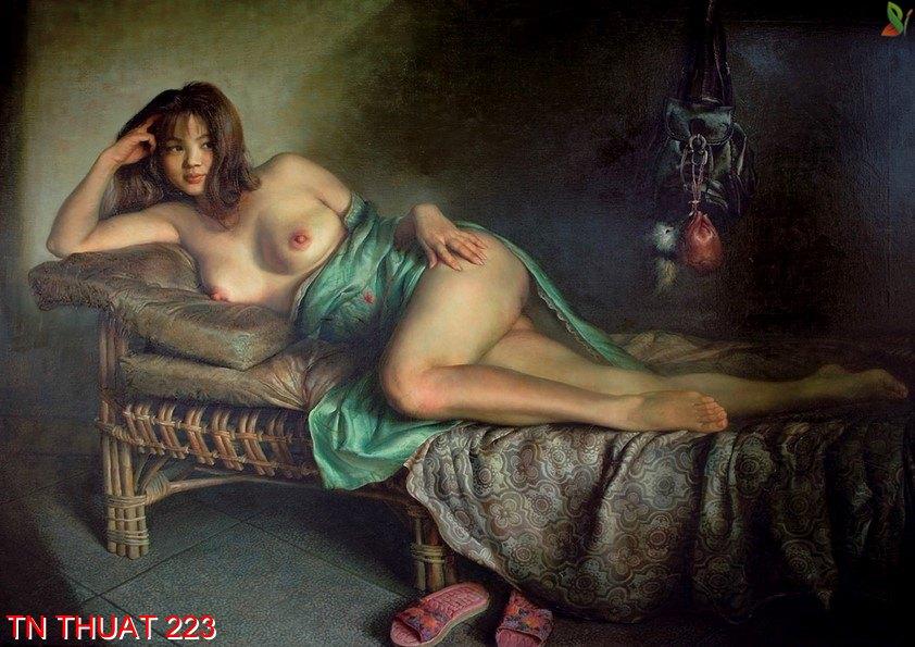 TN Thuat 223 - Tranh nghệ thuật TN Thuat 223