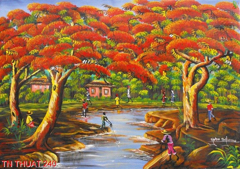 TN Thuat 240 - Tranh nghệ thuật TN Thuat 240