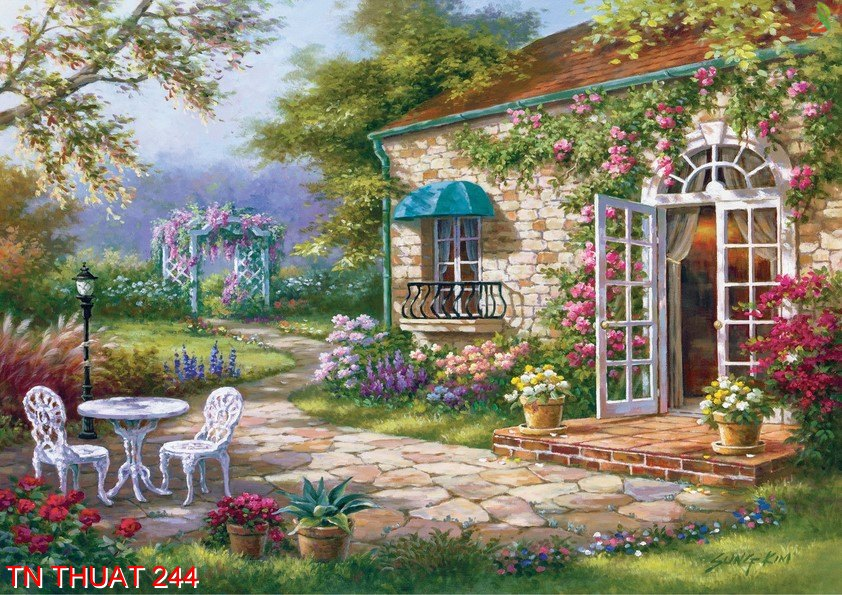 TN Thuat 244 - Tranh nghệ thuật TN Thuat 244