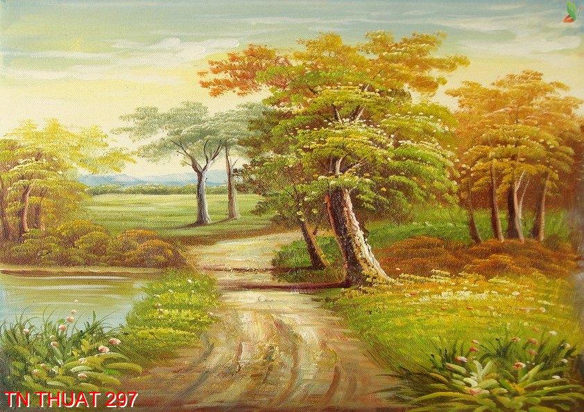 TN Thuat 297 - Tranh nghệ thuật TN Thuat 297