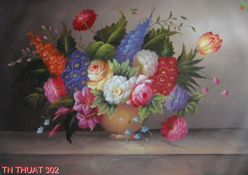 TN Thuat 302 - Tranh nghệ thuật TN Thuat 302