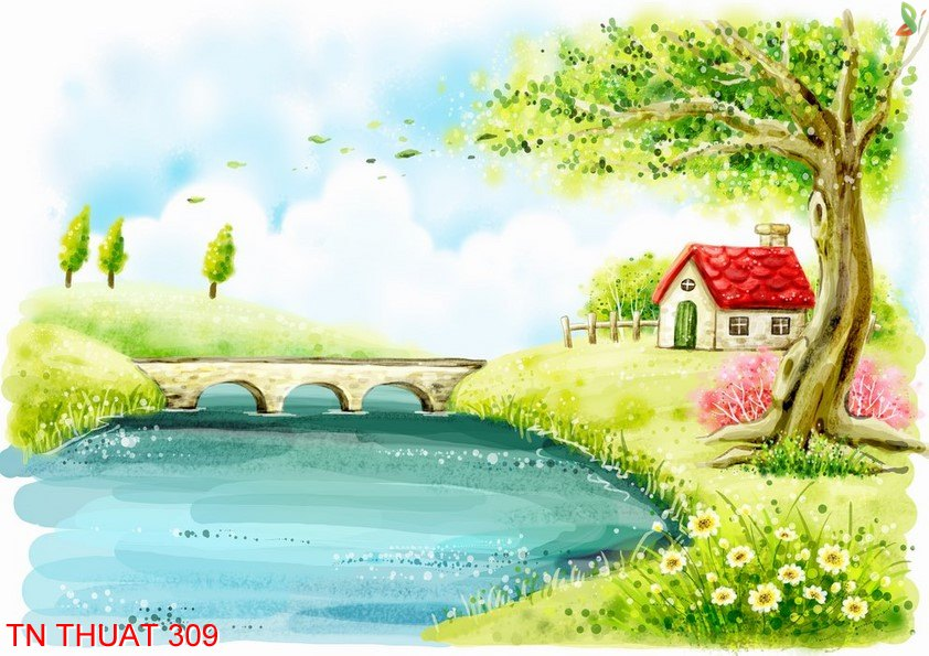 TN Thuat 309 - Tranh nghệ thuật TN Thuat 309