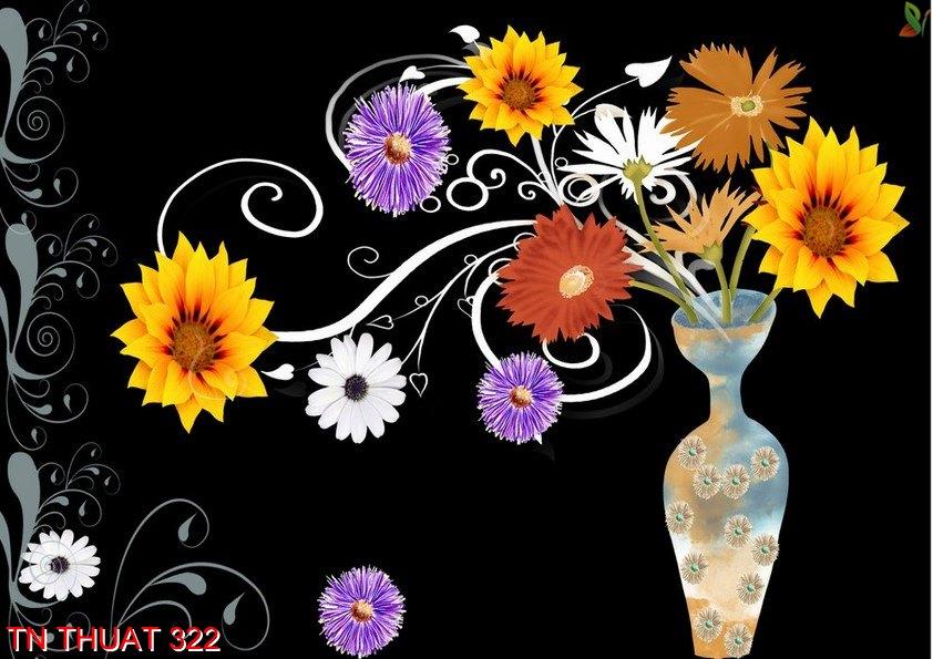 TN Thuat 322 - Tranh nghệ thuật TN Thuat 322