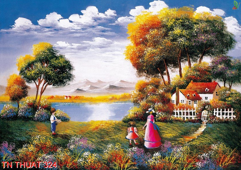 TN Thuat 324 - Tranh nghệ thuật TN Thuat 324