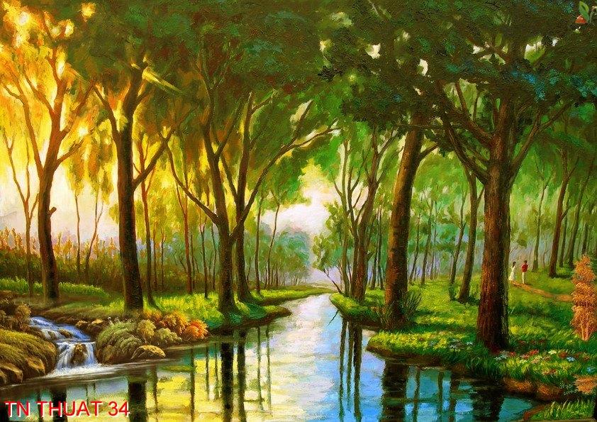 TN Thuat 34 - Tranh nghệ thuật TN Thuat 34