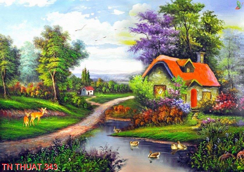 TN Thuat 343 - Tranh nghệ thuật TN Thuat 343