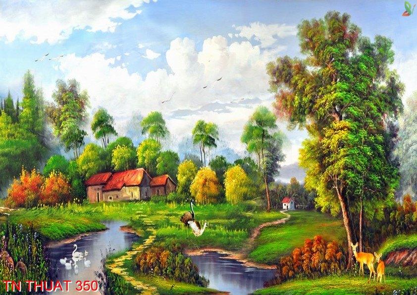 TN Thuat 350 - Tranh nghệ thuật TN Thuat 350