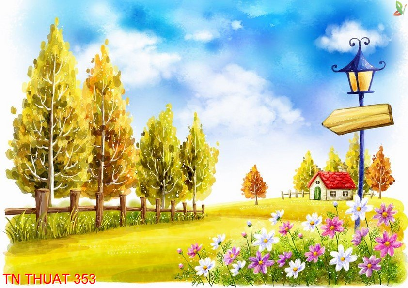 TN Thuat 353 - Tranh nghệ thuật TN Thuat 353