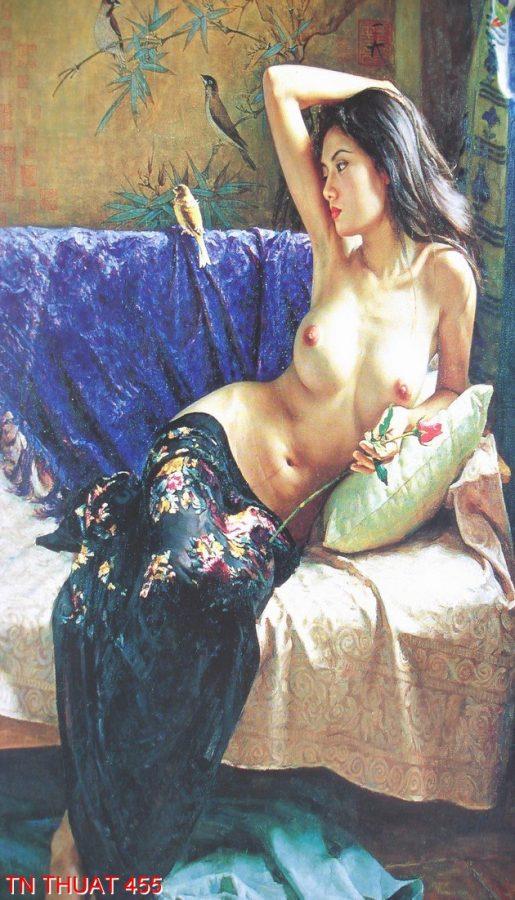 TN Thuat 455 515x900 - Tranh nghệ thuật TN Thuat 455