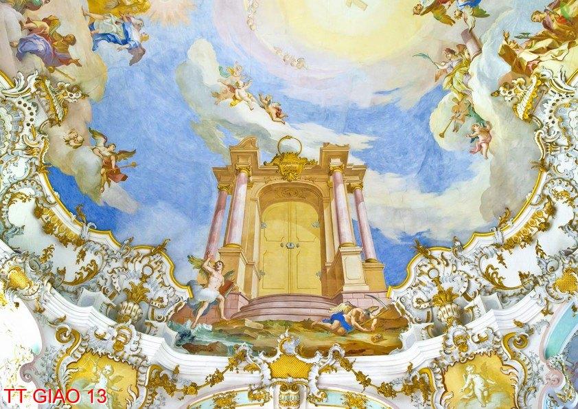 TT Giao 13 - Tranh tôn giáo TT Giao 13