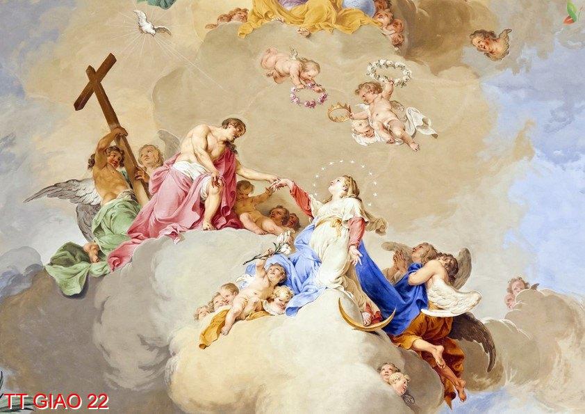 TT Giao 22 - Tranh tôn giáo TT Giao 22
