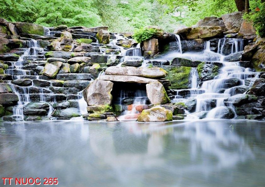TT Nuoc 265 - Tranh thác nước TT Nuoc 265