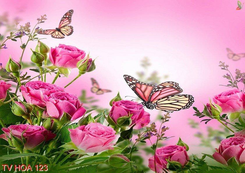 Tranh về hoa 123