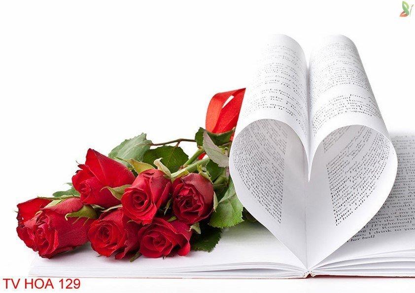 Tranh về hoa 129