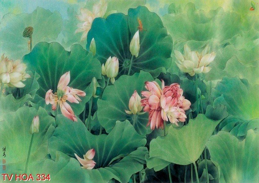 Tranh về hoa 334