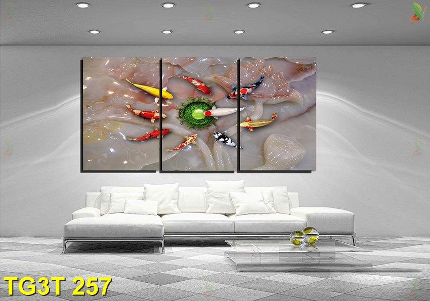 TG3T 257 - Tranh gép 3 tấm TG3T 257