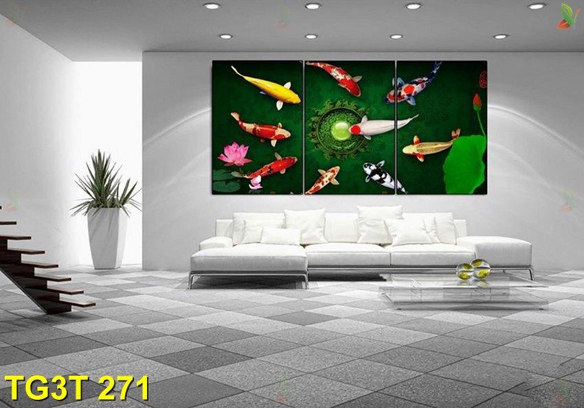 TG3T 271 - Tranh gép 3 tấm TG3T 271