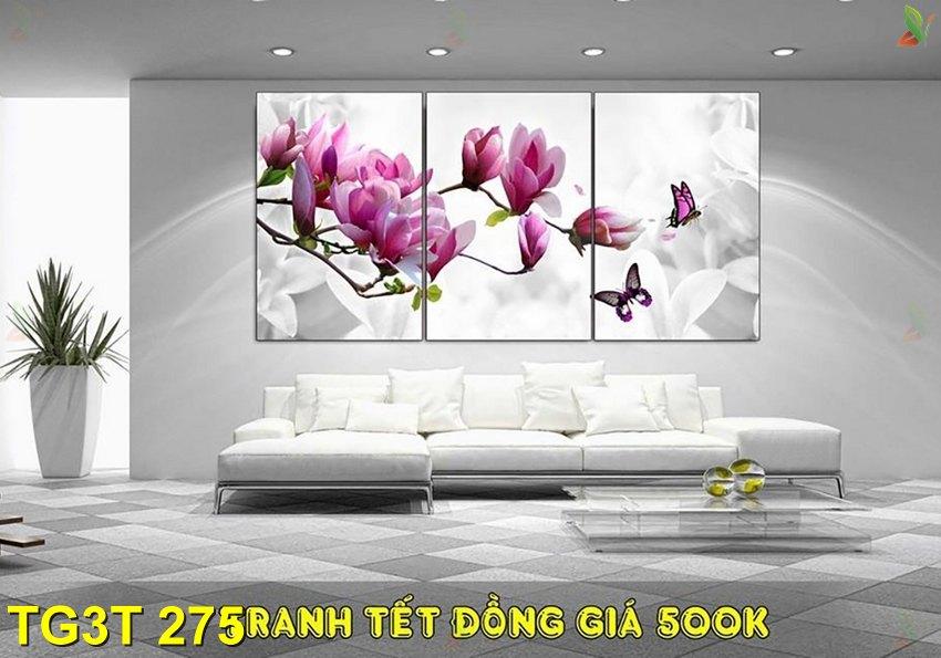 TG3T 275 - Tranh gép 3 tấm TG3T 275