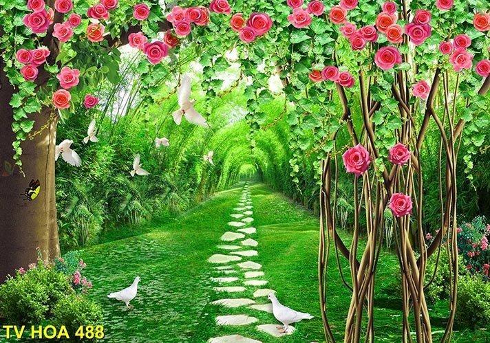 tranh về hoa 488