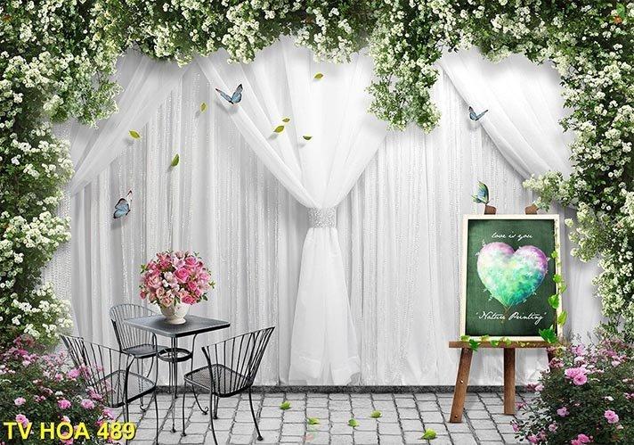 tranh về hoa 489
