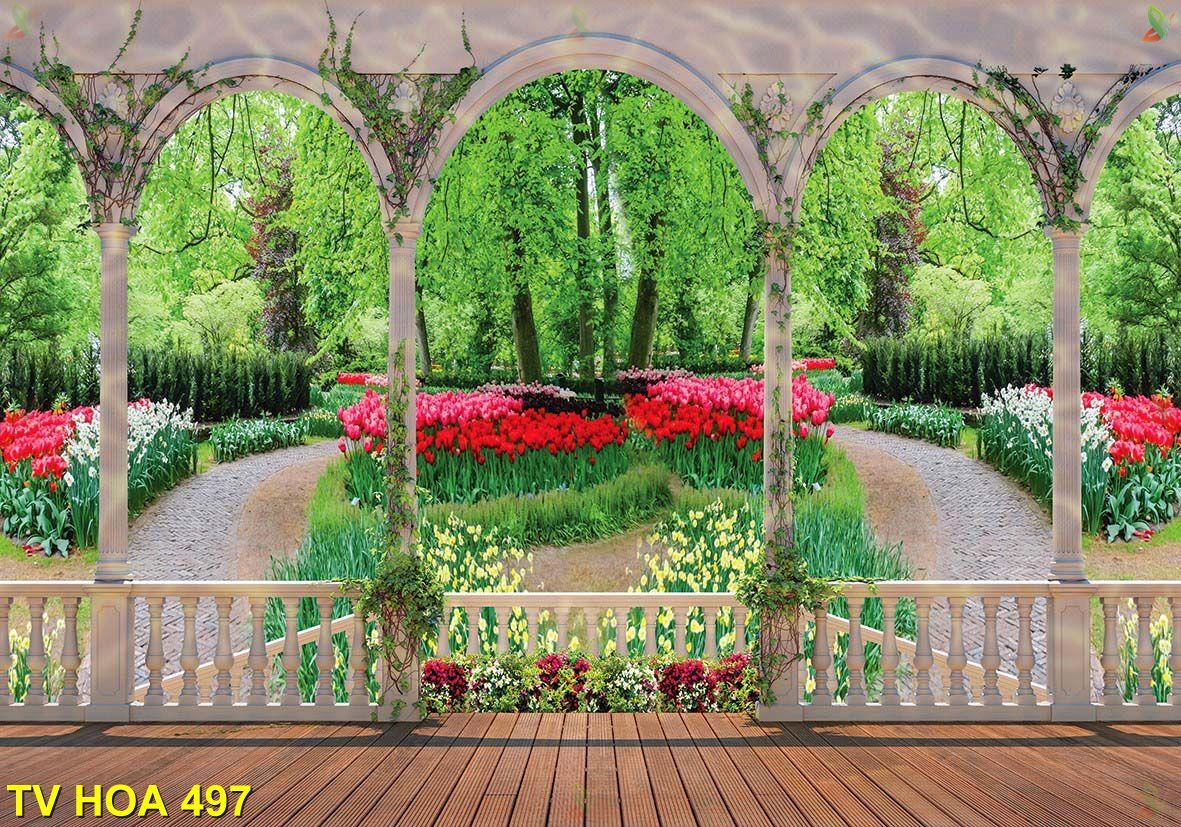 tranh về hoa 497